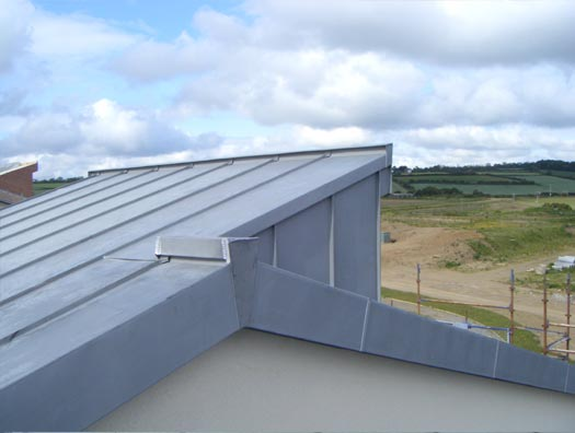 You are browsing images from the article: Zinc Roofing
